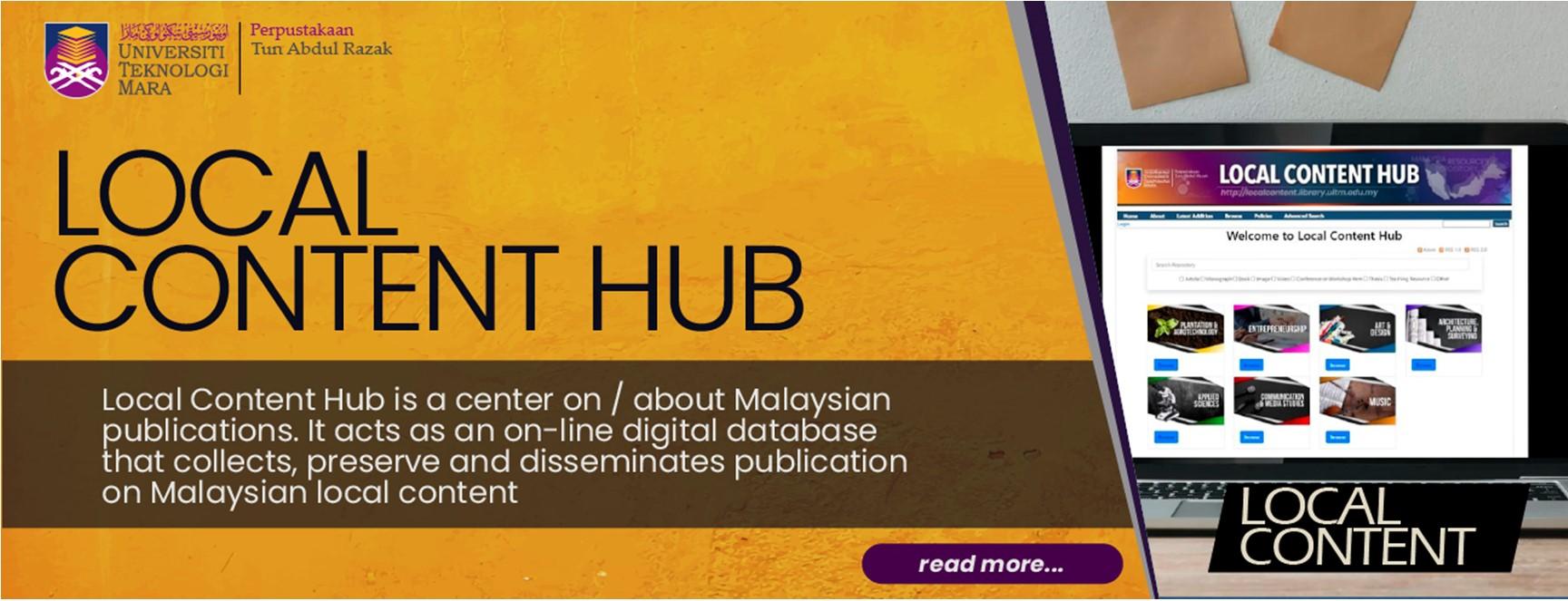 Local Content Hub