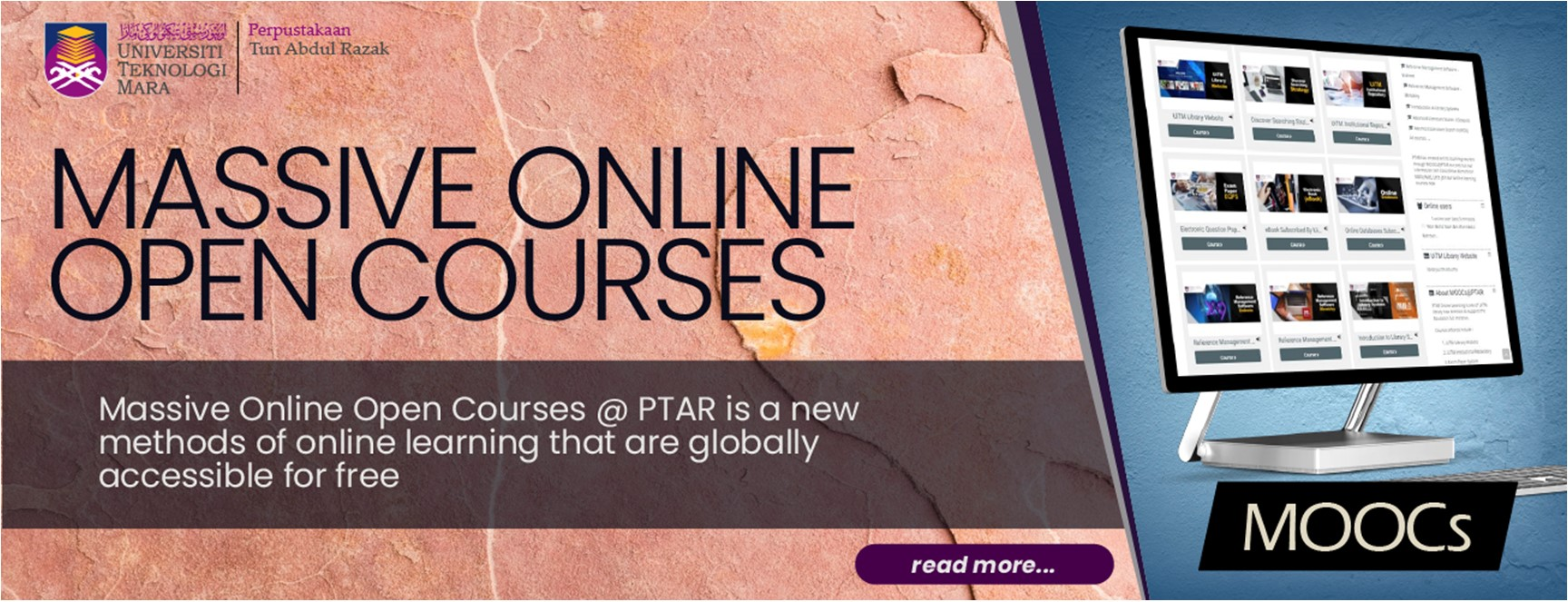 MOOCs@PTAR