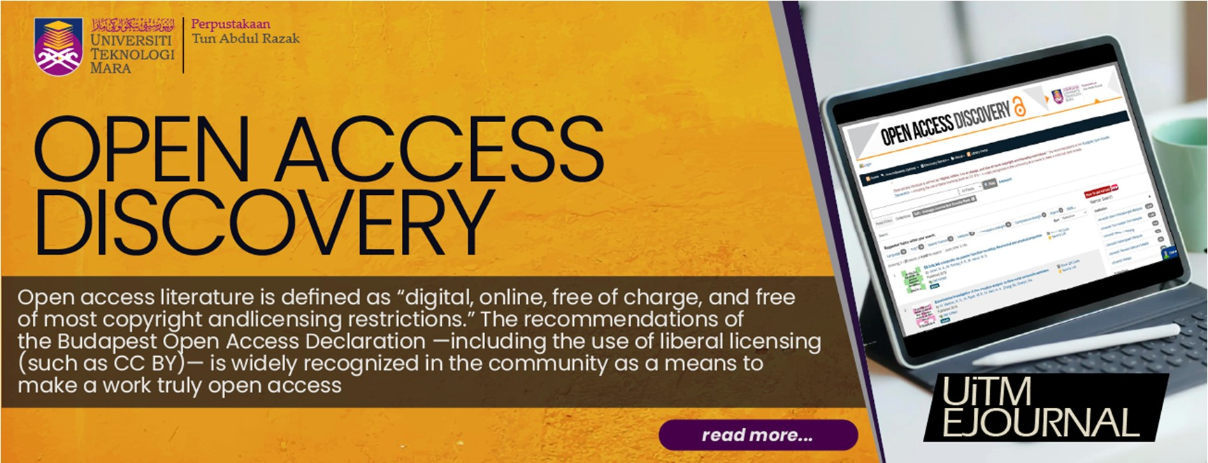 Open Access Discovery